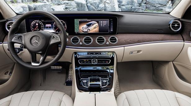 Mercedes E-Class All Terrain interior