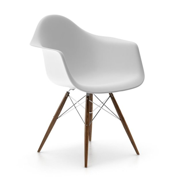comfort modern white chair