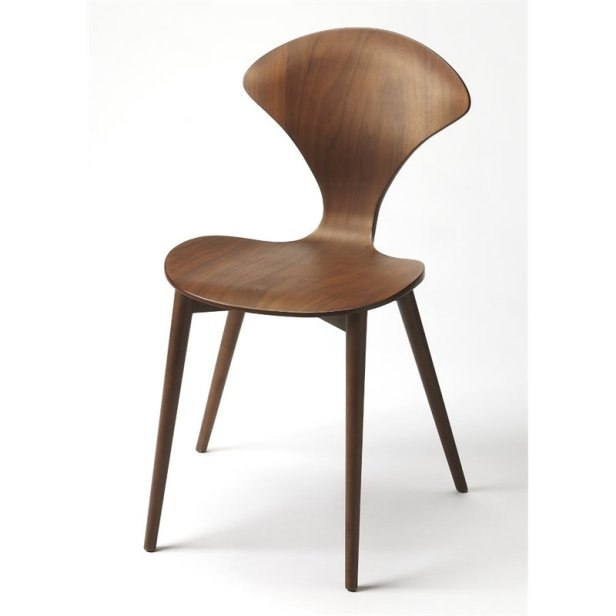 cool modern chair wood butterfly