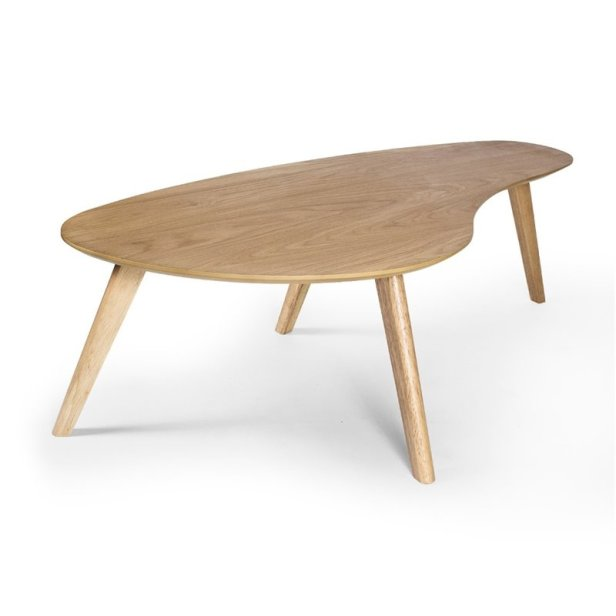 simply scandinavian coffee table in oak