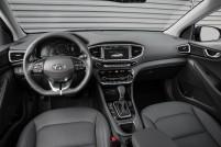 2017 Hyundai IONIQ HEV interior