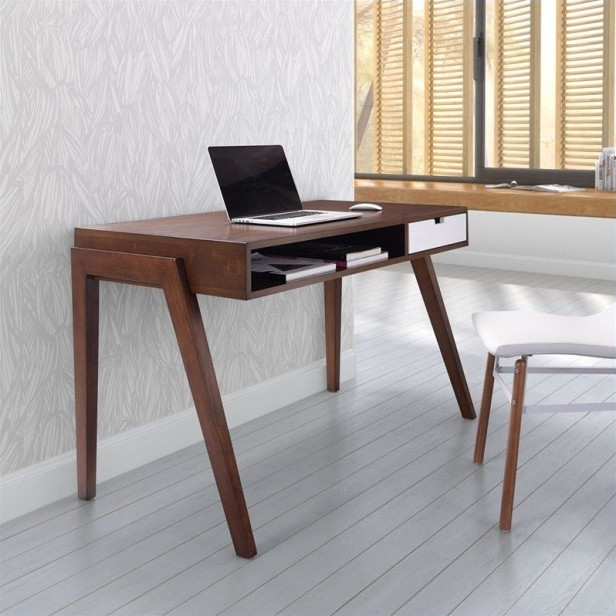 simple style modern computer desk office