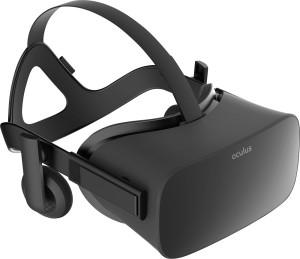 Oculus - Rift Headset for Compatible Windows PCs - Black