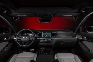 2018 Genesis G80 interior