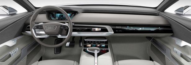 Audi A6 interoir