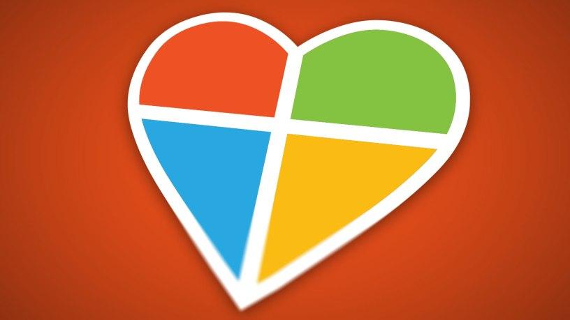 Microsoft valentine's day